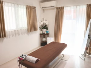 コロナ対策鍼灸施術室1