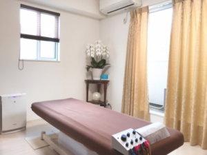 コロナ対策鍼灸施術室2